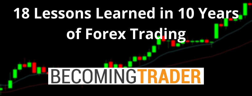 18 Lessons I Learned in 10 Years of Forex