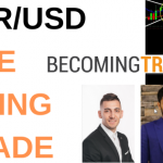 How to Find Low Risk Forex Swing Trades - EUR/USD Live Trade