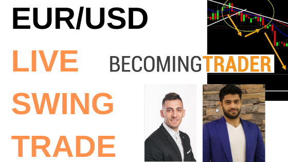 How to Find Low Risk Forex Swing Trades – EUR/USD Live Trade