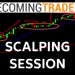 Forex Scalping Live Trading Session - Price Action, Market Structure and more
