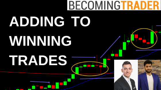 Learn to Trade Forex – Adding to Winning Positions on USD/CAD