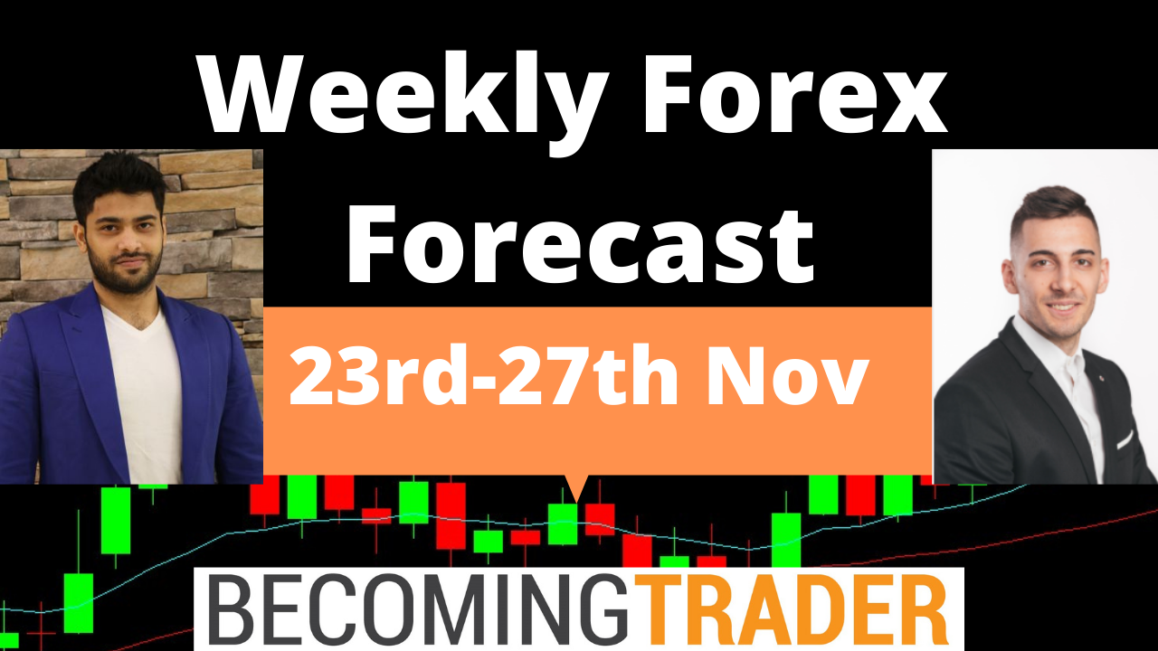 Weekly Forex Forecast 23rd to 27th November 2020