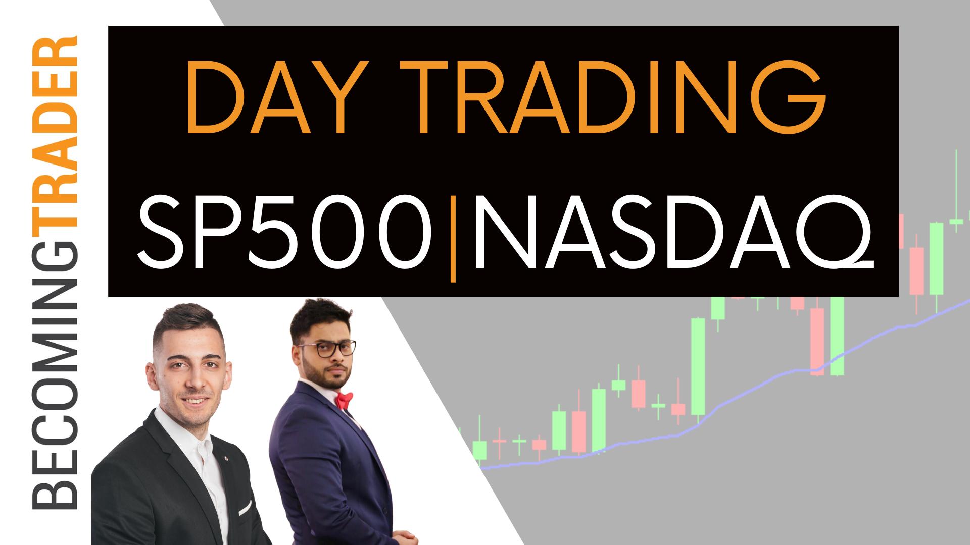 Futures Day Trading   S&P500 & NASDAQ Live Trading