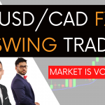 USD/CAD Forex Swing Trade | Market is Volatile