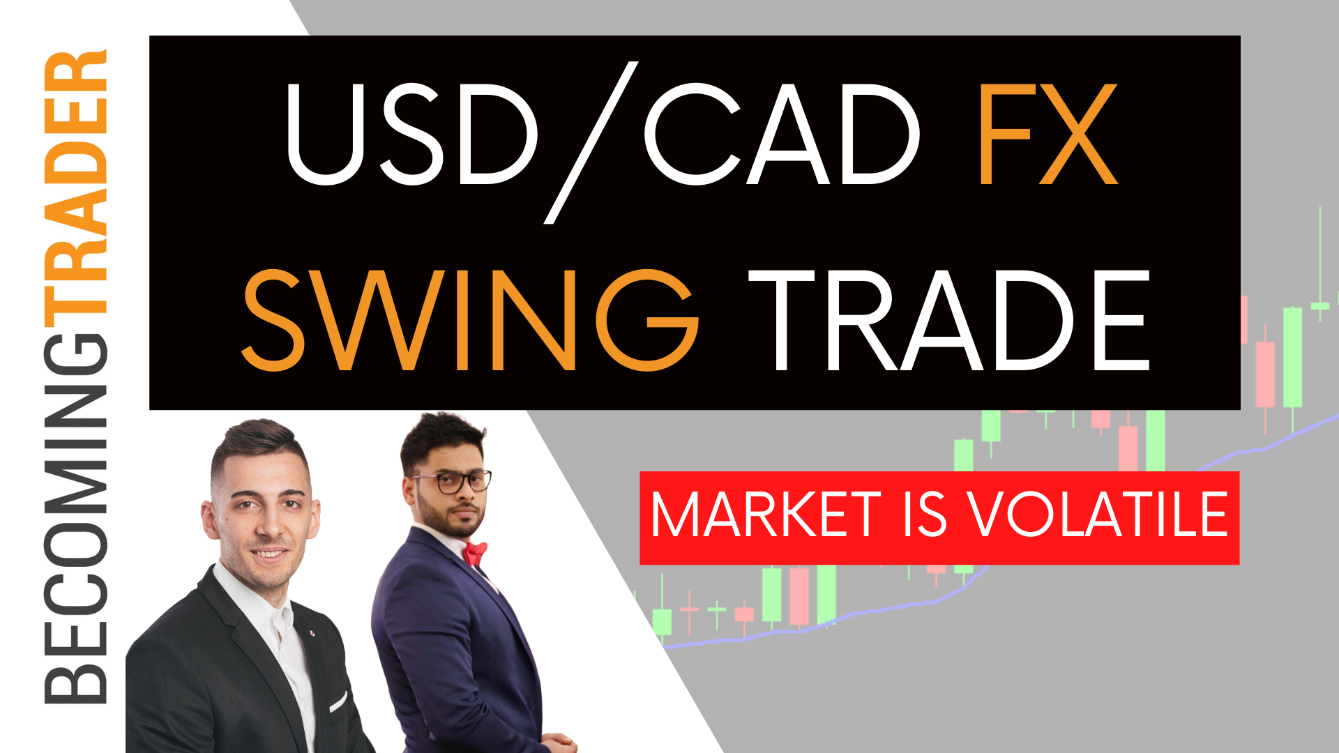 USD/CAD Forex Swing Trade | Market is Volatile
