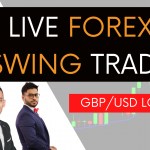 Live Forex Trading | GBP/USD Long Swing Trade