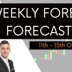 Weekly Forex Forecast 11th to 15th October 2021   EURUSD , GBPUSD , AUDUSD , NZDUSD , USDCAD , USDJPY